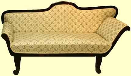 Biedermeier chaislounge bank sofa antiquit ten for Couch jugendstil