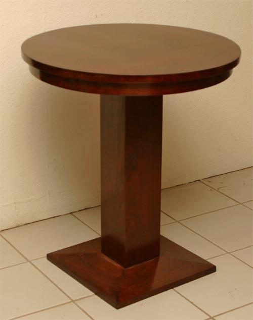 Art Deco Tisch Rund: Art deco tisch nussbaum ausziehbar oberfl?che ...