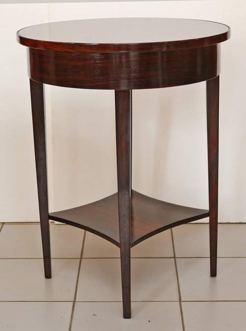 Jugendstil tisch beistelltisch palisander for Palisander tisch
