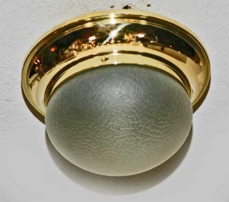 jugendstil art deco deckenlampe messing lampe antiquit ten. Black Bedroom Furniture Sets. Home Design Ideas