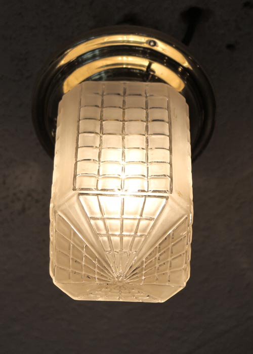 art deco deckenlampe messing lampe antiquit ten. Black Bedroom Furniture Sets. Home Design Ideas