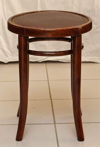 jugendstil stockerl hocker bugholz thonet. Black Bedroom Furniture Sets. Home Design Ideas