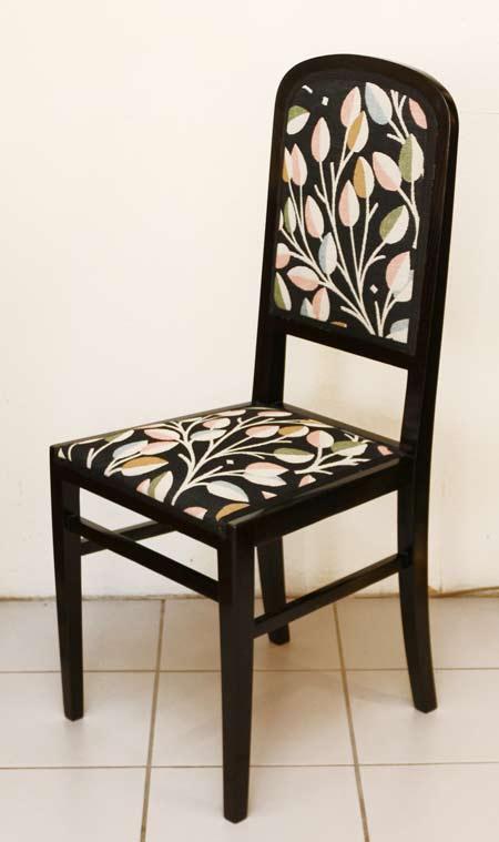 art deco stuehle jugendstil sessel. Black Bedroom Furniture Sets. Home Design Ideas