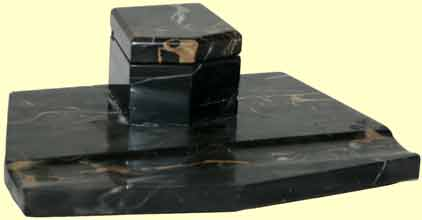 schreibtischablage marmor nostalgiecorner antiquit ten. Black Bedroom Furniture Sets. Home Design Ideas
